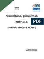 Congresso de RPPS Contabilizações