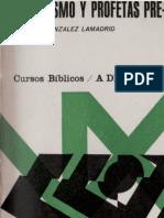 24343128 Curso Biblico 07 Profetas y Profetismo Preexilico