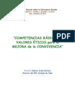 Competencias Básicas y Valores Éticos