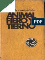 Animal fiero y tierno
