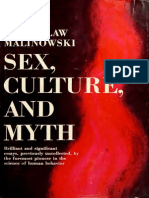Sex, Culture and Myth