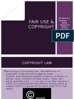 copyright and fair use final