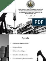 Impacto de los Ingresos Petroleros en los Indicadores Sociales de Venezuela 1999-2013