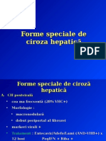 14.Forme speciale de ciroză