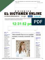 """""""Héctor Astudillo Flores no es un candidato inventado, es conocido y reconocido"""""""
