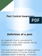 Pest Awareness - Generic