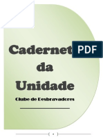 caderneta da unidade - DESBRAVADORES