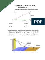 Exercícios Lista 1 - Revisao Matematica