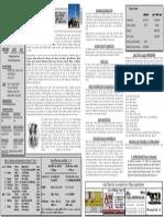 St. Michael April 26, 2015 Bulletin