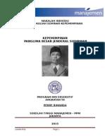 Leadership jenderal Soedirman