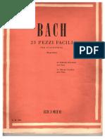 J. S. Bach - 23 Pezzi Facili