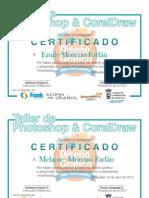Certificado Curso de Diseño y Pintura