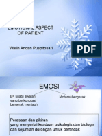 Emotional Aspek of Patient, 2013