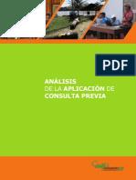 Analisis de La Aplicacion de Consulta Previa - 2015