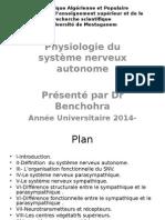 Physiologie Du Système Nerveux Autonome