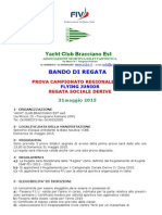 Bando Di Regata Zonale F J - 31-05-2015