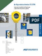 Medidores de Flujo Másico Térmico FCI ST98