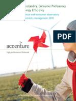 Understanding Consumer Preferences Energy Efficiency 10-0229 Mar 11