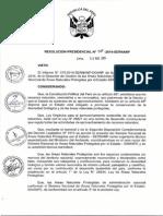 RP N 057 -2014 -SERNANP-requisitos Minimos