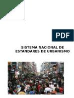 Sistema Nacional de Estandares de Urbanismo