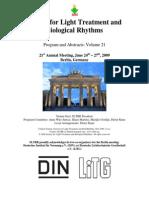 2009Society for Light Treatment and Biological Rhythms