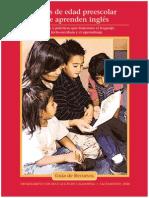 Niños Del Preescolar Que Aprenden Ingles
