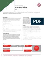 UL in HazL Understanding the Intrinsic Safety Certification Process 2011 V1