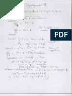 Tercer Examen Matematicas II