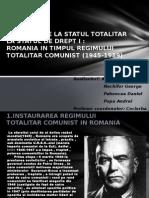 Romania-De La Statul Totalitar La Statul De