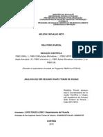 Relatório Parcial da IC