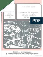 Cuentas Del Reparto Agrario