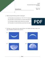 IJSO 2013 MCQ Questions