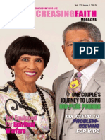Ever Increasing Faith Magazine - Vol 12 - Issue 1