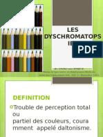 15 Les Dyschromatopsies