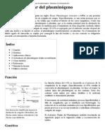 Activador Tisular Del Plasminógeno - Wikipedia, La Enciclopedia Libre