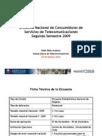 Encuesta Subtel 2s 2009 Prensa