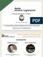 Informe Electoral - CABA