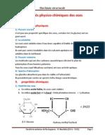 03 Propriétés Physico-chimiques Des Oses
