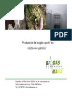 Residuos y Biogas Es