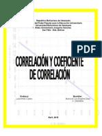 Los Coeficientes de Correlación