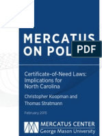 Certificate-of-Need Laws