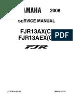 Yamaha FJR 13 AX(C)-AEX(C) '08 - Service Manual