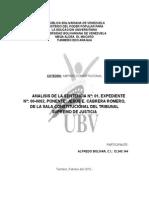Analisis Amparo Sentencia 20-01-00