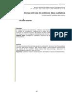 Problemas en Analisis de Datos Cualitativos MEJIA