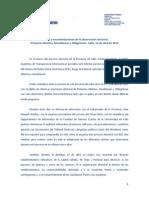 Informe Poder Ciudadano PASO Salta