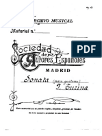 Sonata Manuscrito Joaquim Turina