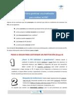 Pasos a Seguir Para Gestionar Un Institución PDF