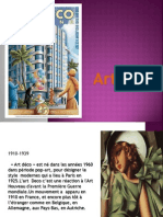 1910-1939 «Art déco» Est né Dans Les