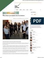 21-04-15 Ofrece Maloro Acosta dignificar labor de los bomberos