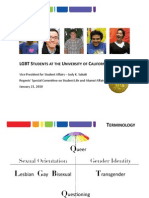 LGBT Students at the University of California